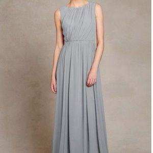 Jenny Yoo Eloise Bridesmaid Dress in Storm